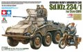 Sd.Kfz.234/1 Armored Car & Motorcycle