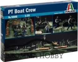 PT Boat Crew - action stations