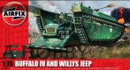 LTV 4 Buffalo & Willys Jeep (WW II)