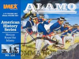 Mexican Round Hat Infantry - Alamo