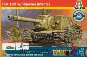 ISU 152 with Russian Infantry - presentset