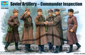 Soviet Artillery - Commander Inspection