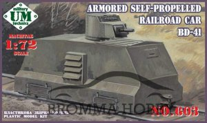 Armored Self-Propelled Railroadcar BD-41