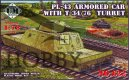 PL-43 Armored car with T-34/76 turret