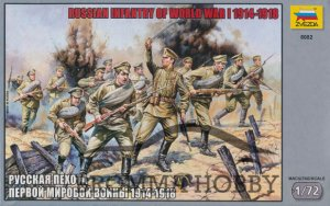 Russian Infantry of World War I