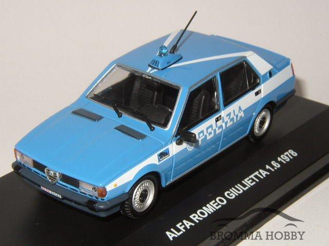 Edison 1//43 Alfa Romeo Giulietta 1978 Polizia